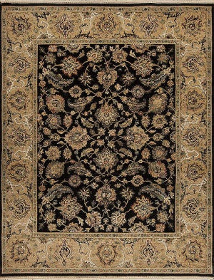Samad Sovereign Catherine Black - Camel Area Rug