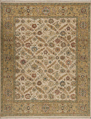 Samad Sovereign Empress Ivory - Gold Area Rug
