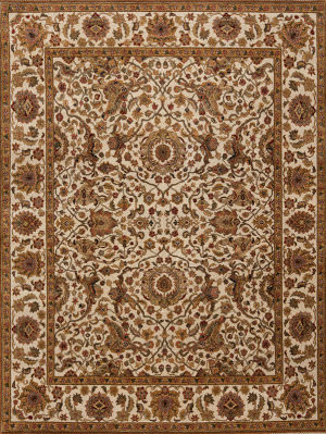 Samad Passions Happiness Ivory Area Rug