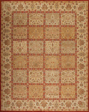 Samad Empire Livingstone Multi - Cream Area Rug
