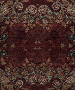 Samad Art Tec Ar-44 Black Area Rug