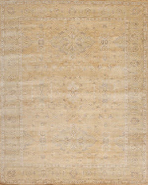 Samad Notting Hill Royal Oak Light Gold - Pistachio Area Rug