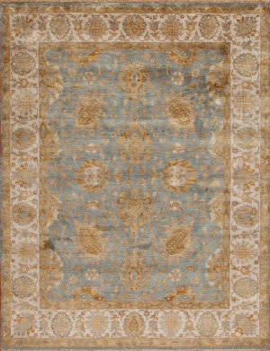 Samad Silver Screen Tracy Baby Blue - Sand Area Rug