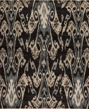 Samad Jazz Couture Stride Charcoal Area Rug