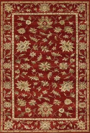 Samad Essence Bellflower Red - Red Area Rug