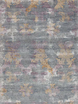 Samad Tres Jolie Collette Platinum Area Rug