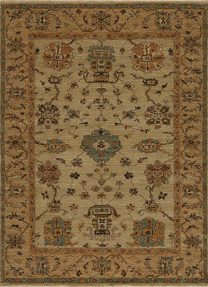 Samad Essence Dogwood Coffee - Cream Area Rug