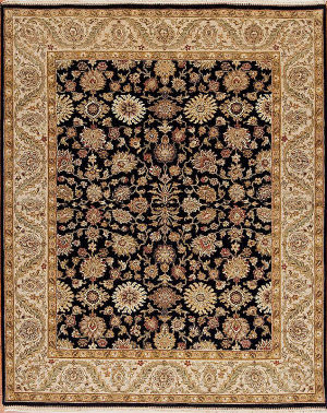 Samad Passions Purity Black - Fawn Area Rug