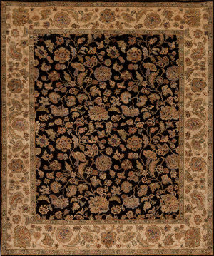 Samad Passions Life Black - Camel Area Rug