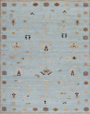 Samad Alhambra Aragon Blue Area Rug