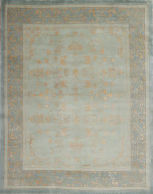 Samad Presidential Buchanan Light Blue Area Rug