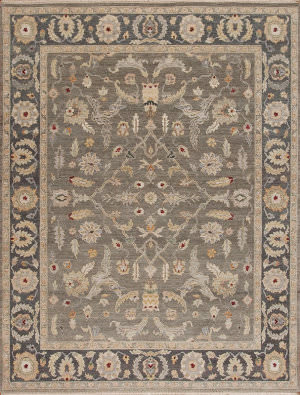 Samad Caribbean Breeze St. Thomas Quartz - Gray Area Rug