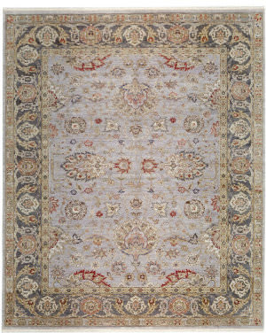 Samad Sovereign Charlemagne Wedgewood/Pewter Area Rug