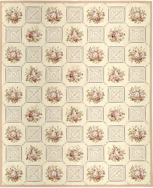 Samad Highland Needleworks Drummond Ivory Area Rug