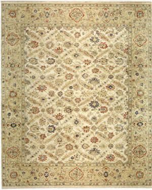 Samad Sovereign Empress Cream - Camel Area Rug