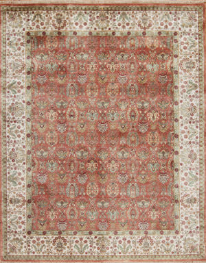 Samad Silver Screen Hayworth Cinnamon - Beige Area Rug