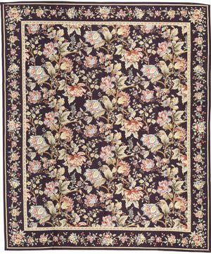 Samad Highland Needleworks Lamont Charcoal Area Rug