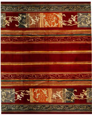 Samad Presidential Hoover Red Area Rug