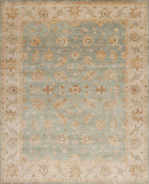 Samad Notting Hill Landsdowne Light Blue - Beige Area Rug