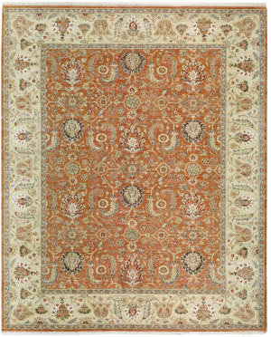 Samad Sovereign Marguerite Cinnamon - Sand Area Rug
