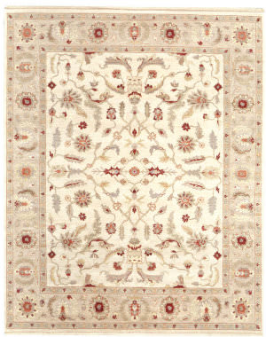 Samad Caribbean Breeze St. Thomas Ivory - Soft Rose Area Rug