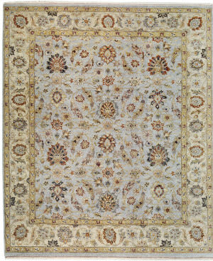 Samad Sovereign Tara Baby Blue/Ivory Area Rug