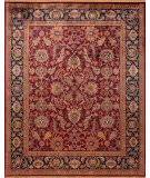 Samad British Raj 2000 Regal Red - Navy Area Rug