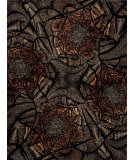Samad Art Tec Camaflower Black Area Rug