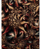 Samad Art Tec Shooting Star Black Area Rug