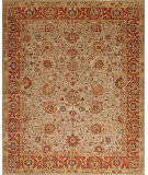 Samad Empire Raleigh Light Green - Terracotta Area Rug