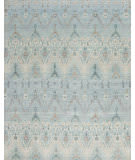Samad Jazz Blue Note Light Blue Area Rug