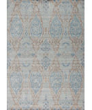 Samad Jazz Montreux Blue - Grey Area Rug