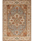 Samad International S-555 Blue - Ivory Area Rug