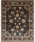 Samad Silver Screen Barrymore Black - Black Area Rug