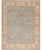 Samad Caribbean Breeze St. Thomas Baby Blue - Ivory Area Rug