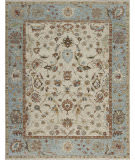 Samad Essence Zinnia Ivory - Light Blue Area Rug