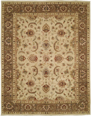 Shalom Brothers Royal Zeigler Rzm-Sl1 Beige/Brown Area Rug