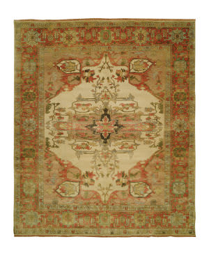 Shalom Brothers Jules Serapi Js-635 Antique Wash Finish Area Rug