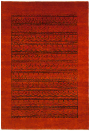 Shalom Brothers Sunrise Sun-4031 Rust Area Rug