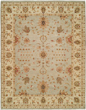 Shalom Brothers Royal Zeigler Rzm-Sl143 Light blue/Beige Area Rug