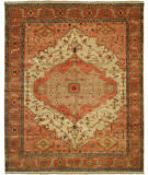 Shalom Brothers Jules Serapi Js-954 Antique Wash Finish Area Rug