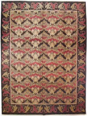 Solo Rugs Arts And Crafts 176222  Area Rug