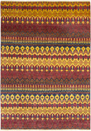 Solo Rugs Ikat M1593-333  Area Rug