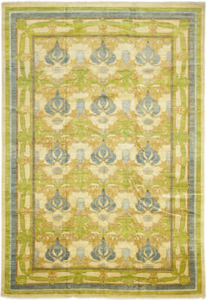 Solo Rugs Arts And Crafts M1624-2  Area Rug