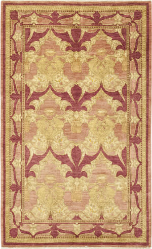 Solo Rugs Arts And Crafts M1676-96  Area Rug