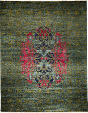Solo Rugs Suzani 178195  Area Rug