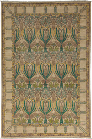 Solo Rugs Arts And Crafts 176322  Area Rug