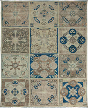 Solo Rugs Eclectic 176678  Area Rug
