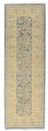 Solo Rugs Eclectic  2'6''x7'9'' Runner Rug