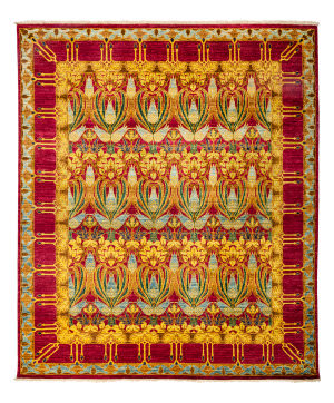 Solo Rugs Arts And Crafts 176376  Area Rug